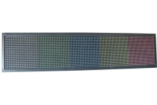 Panneau LED 200x40cm multicolor OUTDOOR