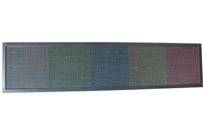 PANNEAU LED 192 x 32 cm - MULTICOLORE - EXTERIEUR