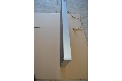 JOURNAL LUMINEUX A LED 192 x 16cm - ROUGE - EXTERIEUR