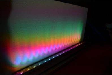RAMPE LUMINEUSE LED 100 cm RGB 3 en1 - 54W - IP65 - 220v - Euraled