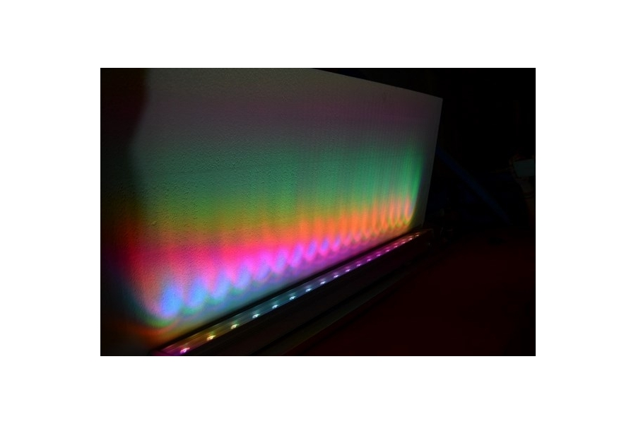 barre lumineuse led rgb 100cm 36 ww. Black Bedroom Furniture Sets. Home Design Ideas