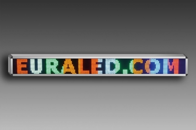 JOURNAL LUMINEUX A LED 160 x 16 cm - MULTICOLORE - INTERIEUR
