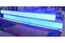 Panneaux led 2.60M bleus x 2