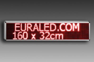 panneau d filant led programmable 164 x 36 cm