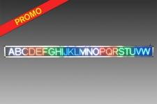 Journal Lumineux 256 x 16cm Multicolore - WiFi - Intérieur