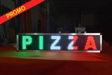 LETRERO LED AMARILLO WIFI 128 x 16 cm INTERIOR